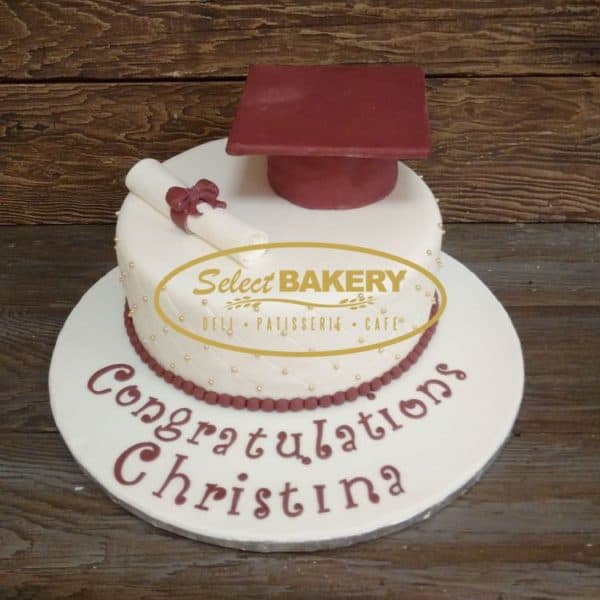 Graduation - Specialty Cake by Select Bakery