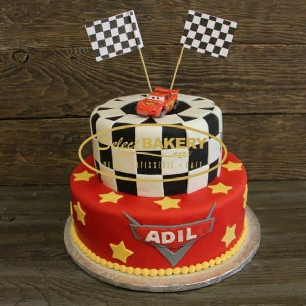 Birthday Cake- Cars 559