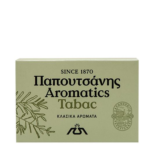 Papoutsanis-Aromatics-Greek-Soap-Tabac