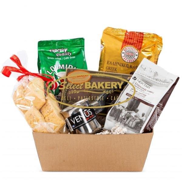Gift Basket - Greek Coffee- Toronto-GTA delivery