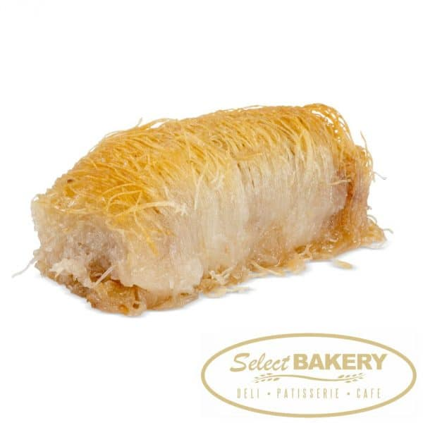 Select Bakery Kadifi Shredded fillo pastry filled with walnuts and cinnamon and soaked in honey
