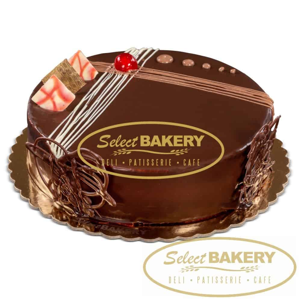 Chocolate Cake , 12 slices , Select Bakery