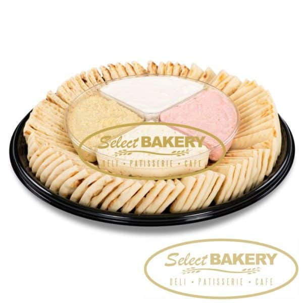 Select Bakery Catering Dip Platter