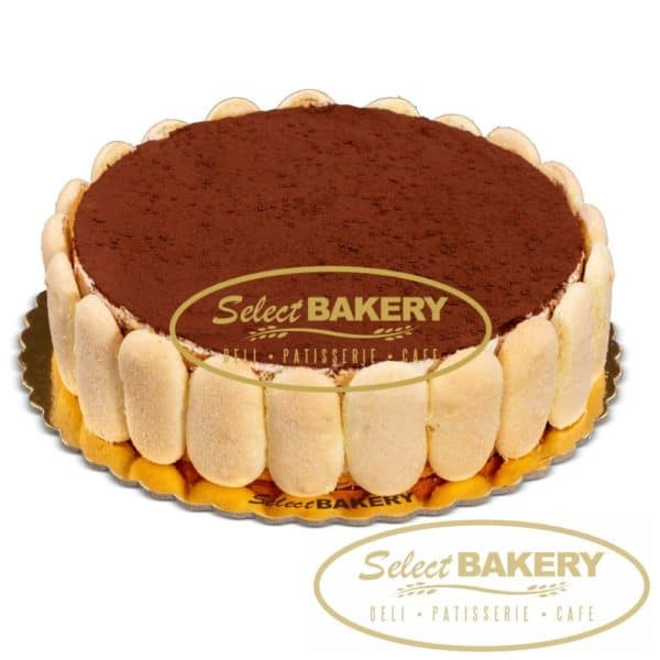 Tiramisu Cake - 12 slices Select Bakery's bestseller cakes are now available for online order