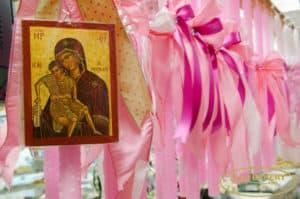 Greek Easter Lambada CandleGreek Easter Lambada Candle