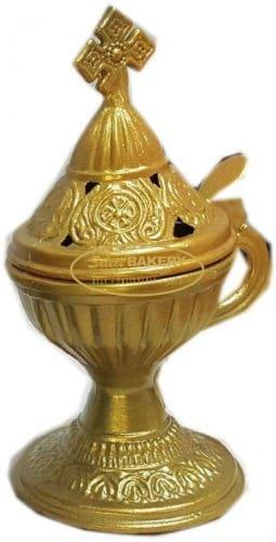 Incense Burner Livanistiri Religious Greek Orthodox