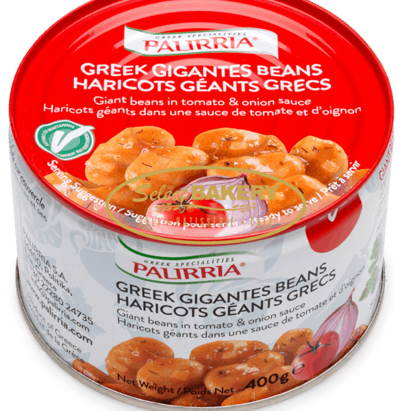 Palirria presents their spin on a popular eastern Mediterranean recipe. White buttery gigantes beans are slowly cooked in a rich tomato sauce with fresh dill and parsley until perfectly creamy and tender. This mouth-watering meal is packaged in an easily stackable and ready-to-eat 400g tin that can be enjoyed for lunch or dinner with minimal effort required. Serve over toasted crusty bread for an easy vegan meal!