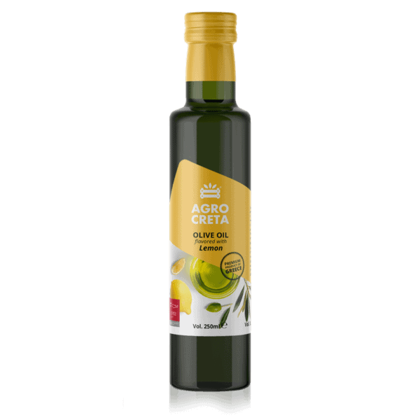 AGRO CRETA LEMON FLAVOURED OLIVE OIL 250 ML