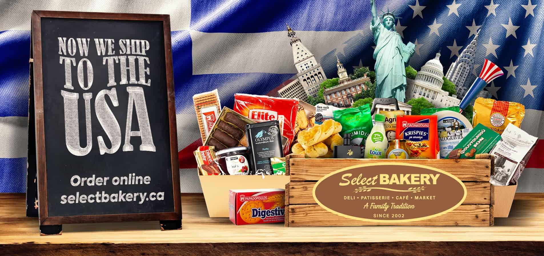 Select Bakery US shipping