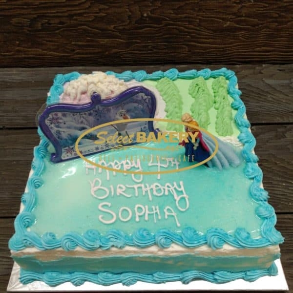 Frozen Birthday Cake 20-25 persons