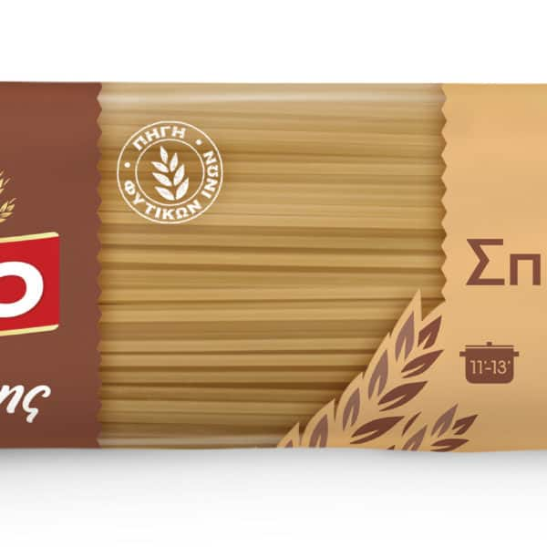 Misko Spaghetti No. 6. Whole Wheat 500g