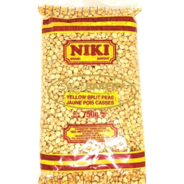 Yellow Split Peas NIKI 750g Split yellow peasbelong to the same family as lentils and are highly nutritious—high in both protein andfiber.