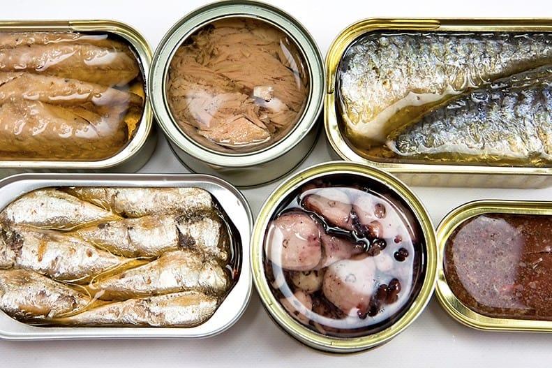 Select Bakery Canned Fish Sardines Tuna