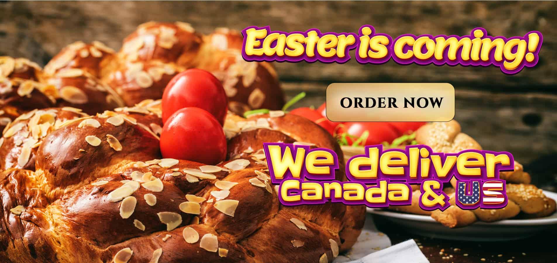 Easter Slider Select Bakery