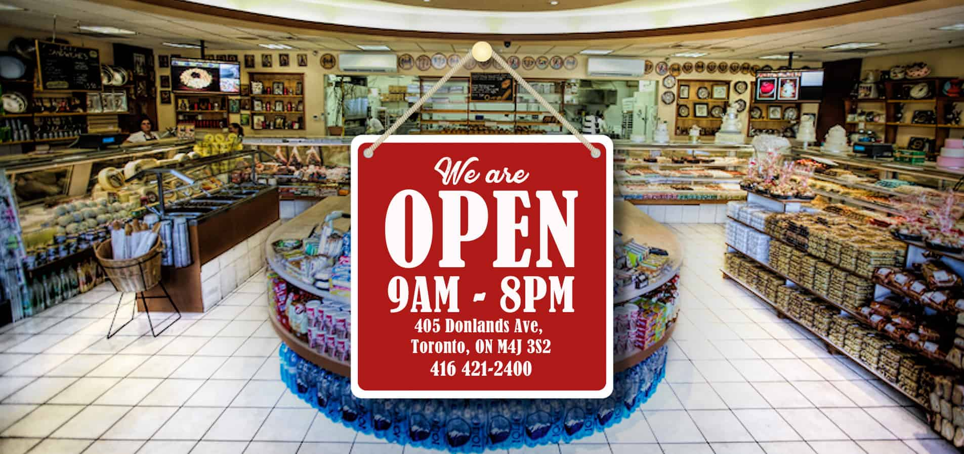 Select Bakery We are Open