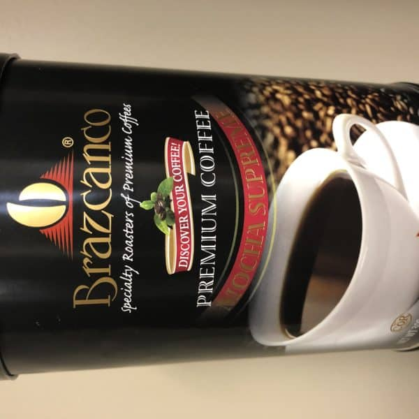 Branzanco Premium Mocca Java 300g An exquisite blend of South, Central American and African beans,