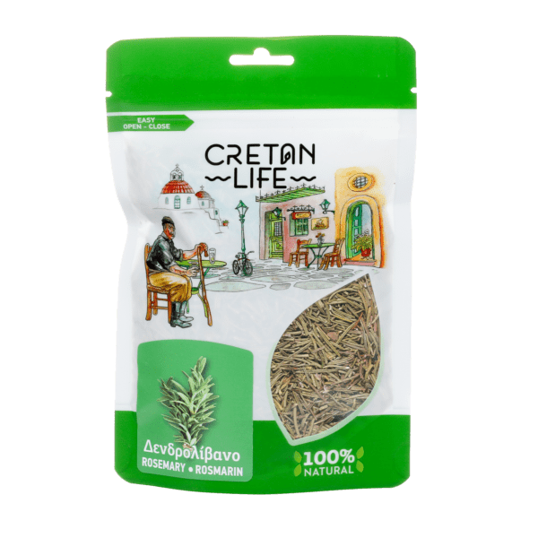 Greek Dried Rosemary Cretan Life 40g Rosemary has been traditionally paired with lamb and chicken but of course,