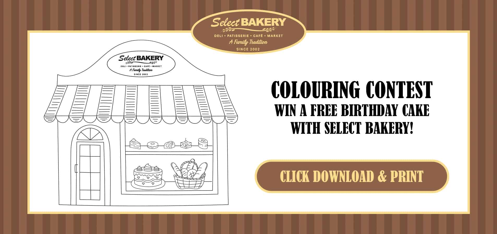 Colouring Contest Selecti Bakery