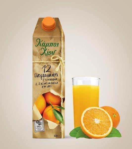 Chios Gardens Orange Juice