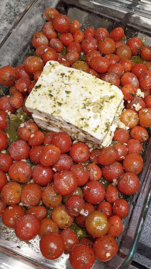 Tomato-feta-pasta-greek-recipe